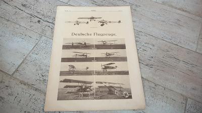 Deutsche Flugzeuge-Německá letadla 1.sv.válka-květen 1918-Foto