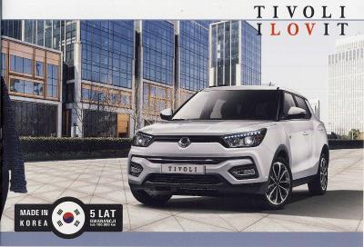 SsangYong Tivoli prospekt 2017 PL