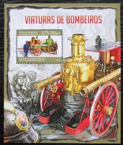 Mosambik 2013 Hasiči Mi# Block 765 Kat 10€ 1865