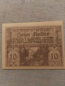 10 heller 1920 pouze po české republice
