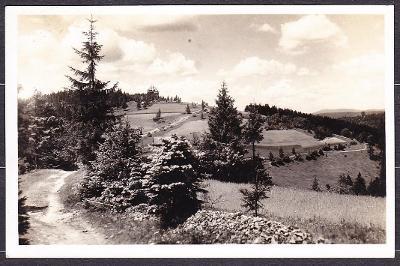 MASARYKOVA CHATA NA BEZKYDĚ, POSLANÁ 1936.
