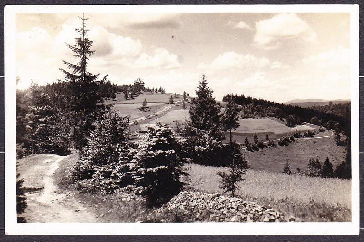 MASARYKOVA CHATA NA BEZKYDĚ, POSLANÁ 1936. - Pohlednice