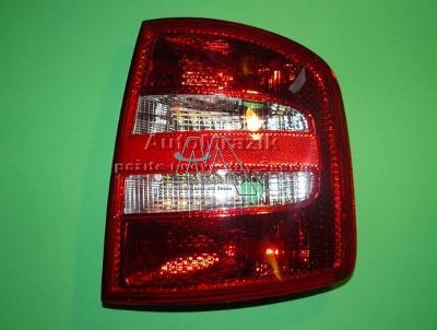 Zadní světlomet, lampa Škoda Fabia, Fabie I combi, sedan pravá