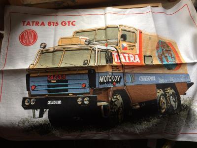 Sběratelská utěrka, Tatra 815 GTC