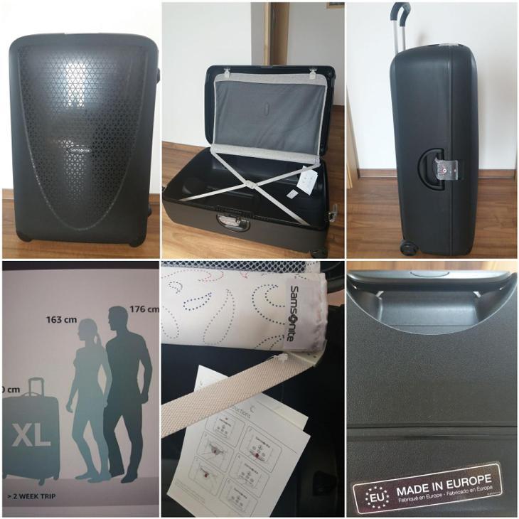 cestovní kufr Samsonite - Tašky, batohy, kufry