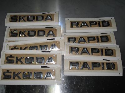 Autonápis ŠKODA , RAPID
