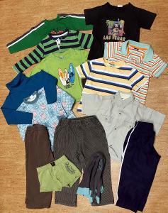 Set oblečení pro kluka vel. 92 - 98, 14 ks