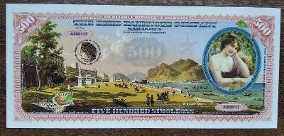 500 simoleons (pamětní bankovka)