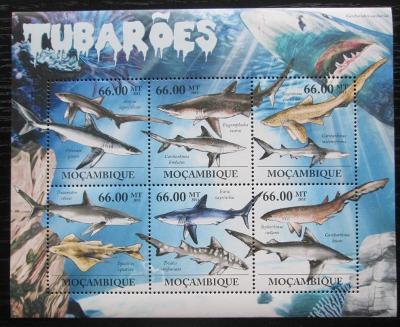 Mosambik 2011 Žraloci Mi# 5337-43 Kat 23€ 1720