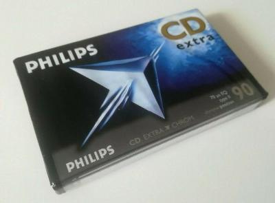 nová kazeta Philips CD Extra 90 Type II Blank