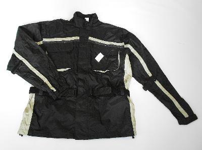 Textilní bunda- vel. XL, nepromok, refl. prvky