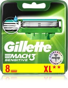 GILLETTE Mach3 Sensitive 8 ks