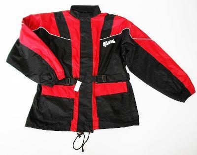 Textilní bunda- vel. XL, reflexní prvky, nepromok