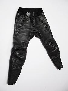 Kožené kalhoty- vel. 50, chrániče kolen
