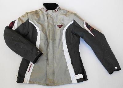Textilní bunda dámská IXON- vel. 7, chrániče