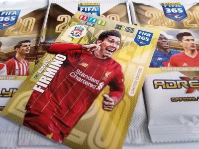 Fotbalové karty  FIFA 365 - 2020 : Sada 3. BALÍČKY + 1 LIMITED !