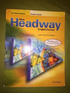 Predám učebnice Headway + prac. zošit + slovník