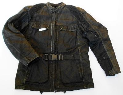 Bunda textil+ kůže HEIN GERICKE- vel. 2XL/56, chrániče