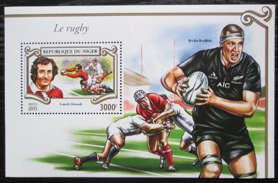 Niger 2015 Rugby Mi# Block 462 Kat 13€ 1756