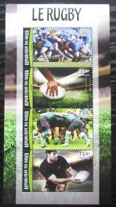 Niger 2016 Rugby Mi# 4207-10 Kat 12€ 1757