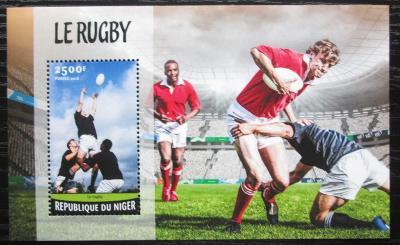 Niger 2016 Rugby Mi# Block 546 Kat 10€ 1757