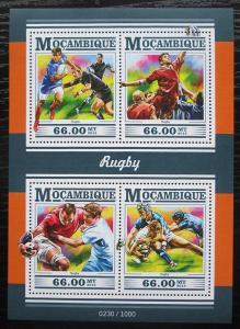 Mosambik 2015 Rugby Mi# 8124-27 Kat 15€ 1757