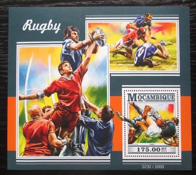Mosambik 2015 Rugby Mi# Block 1065 Kat 10€ 1757