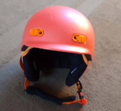 Dětská lyžařská helma vel. S - XS vč. vaku