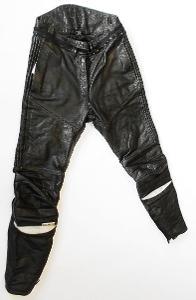 Kožené kalhoty dámské TAKAI- vel. 38, reflexní prvky