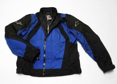 Textilní bunda  ALPINESTAR- vel. XXL/56, chrániče