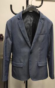 Nové modrošedé pánské sako Selected Homme vel. 50
