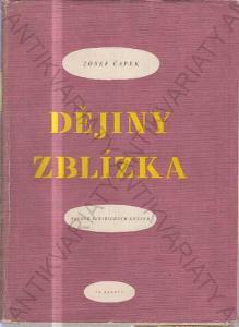 Obrázek  Dějiny zblízka Josef Čapek 1949