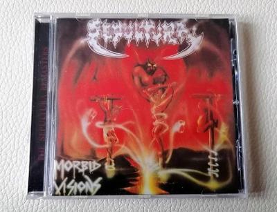 SEPULTURA - Morbid Visions / Bestial Devastation - PRESS 1997