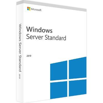 MS Windows Server Standard 2019 64bit CZ 16 jader (Core) OEM DVD