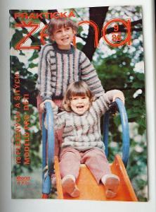 ČASOPIS PRAKTICKÁ ŽENA - ROČNÍK 1986 - ČÍSLO 9 - VYNIKAJÍCÍ STAV