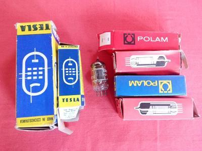 ELEKTRONKY 3x PCL805 1x PCL85 1x PCF802 PL504 PY88 TESLA POLAM