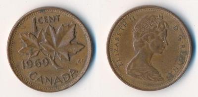 Kanada 1 cent 1969
