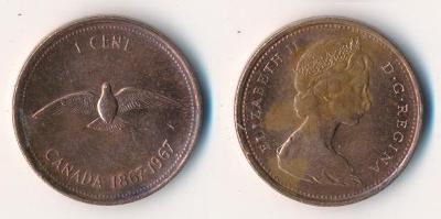 Kanada 1 cent 1967