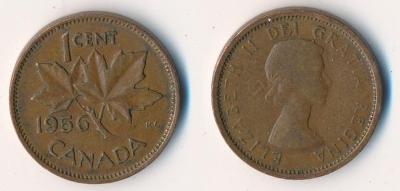 Kanada 1 cent 1956