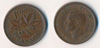 Kanada 1 cent 1941