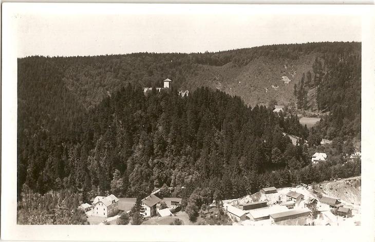 LITICE - hrad - Ústí nad Orlicí - Pohlednice