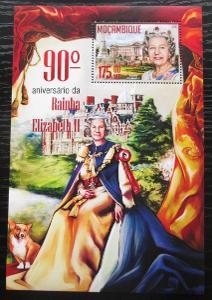 Mosambik 2016 Královna Alžběta II. Mi# Block 1148 Kat 10€ 1821