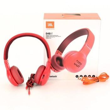 Bezdrátová sluchátka JBL E45BT červená