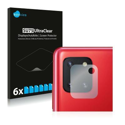 6x Ochranná fólie - Samsung Galaxy Note 10 Lite (Kamera)
