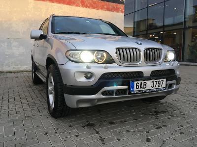 BMW X5, mimořádný stav, nízký nájezd, luxusní výbava