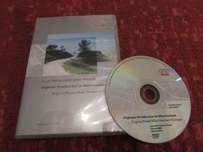 AUDI navigace - DVD s mapou