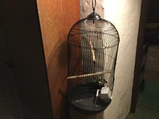 Prodam klec pro papoušky ,korele málo používaný