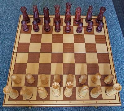 Šachy, ruční výroba, Madoń