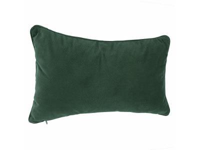 Dekorativní polštář LILOU, 30 x 50 cm, zelená