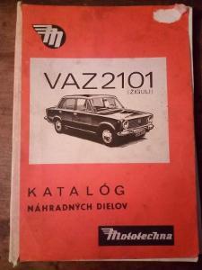 Katalog nahradních dílu Žiguli  VAZ 2101